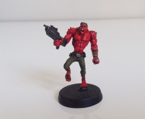 Hellboy style!
